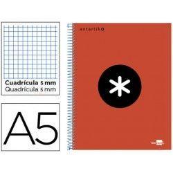 cuaderno espiral A5...
