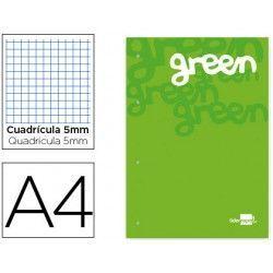 Bloc encolado A4 (color verde)