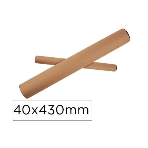 Tubo de cartón 40x430 mm