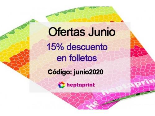 Descuentos en Folletos publicitarios en Barcelona 15% de descuento